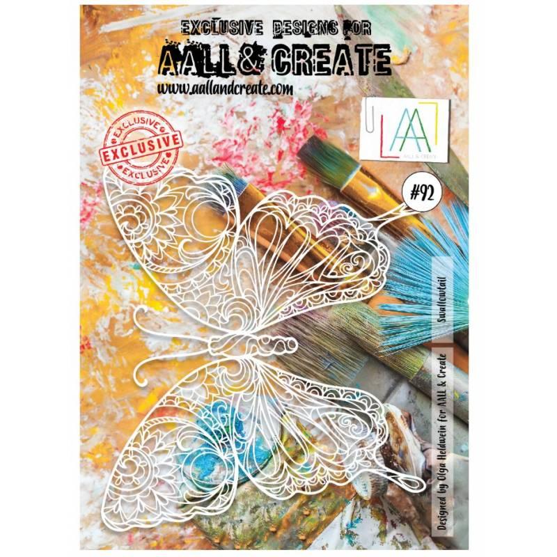 AALL & Create - Pochoir 092 - Papillon géant