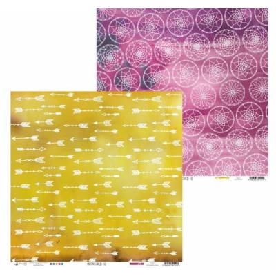 Papier Imprimé - Studio Forty - Moonchild Flèches rosaces