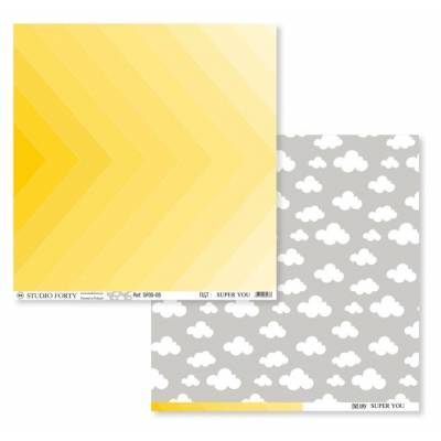 Papier Imprimé - Studio Forty - Super You - Fast