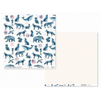 Papier Imprimé - Studio Forty - Lunare - Space animals