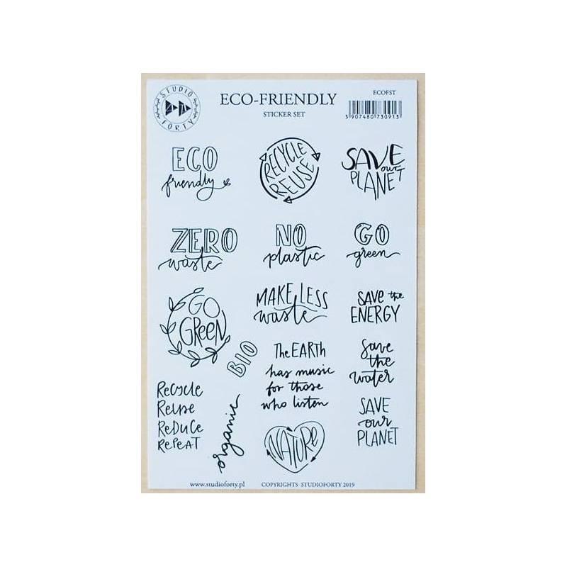Stickers Studio Forty - Eco-friendly