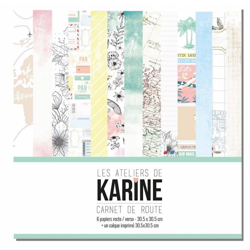 Pack 30x30 - Les Ateliers de Karine - Carnet de route