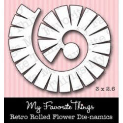 Die-Namics - Rolled Retro Flower