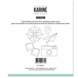 Pochoir - Les Ateliers de Karine - Carnet de Route
