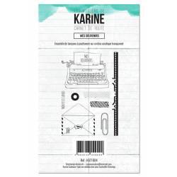 Tampons clear - Les Ateliers de Karine - Carnet de route - Mes souvenirs