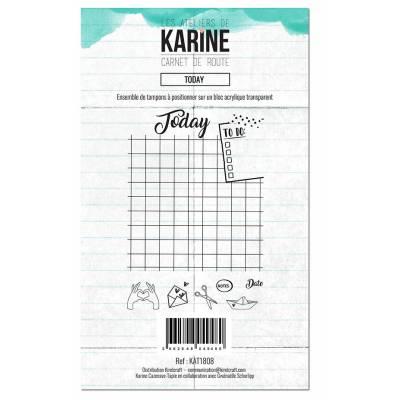 Tampons clear - Les Ateliers de Karine - Carnet de route - Today