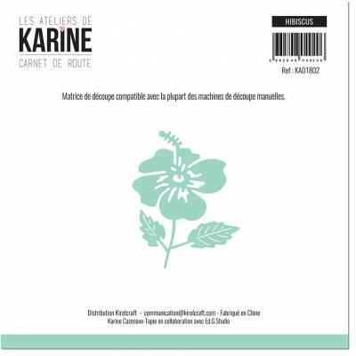 Die - Les Ateliers de Karine - Carnet de route - Hibiscus
