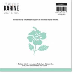 Dies - Les Ateliers de Karine - Carnet de route - Hibiscus