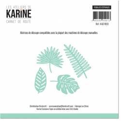 Dies - Les Ateliers de Karine - Carnet de route - Feuilles estivales
