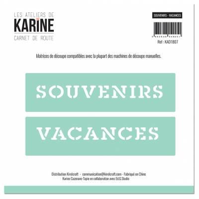 Dies - Les Ateliers de Karine - Carnet de route - Souvenirs Vacances