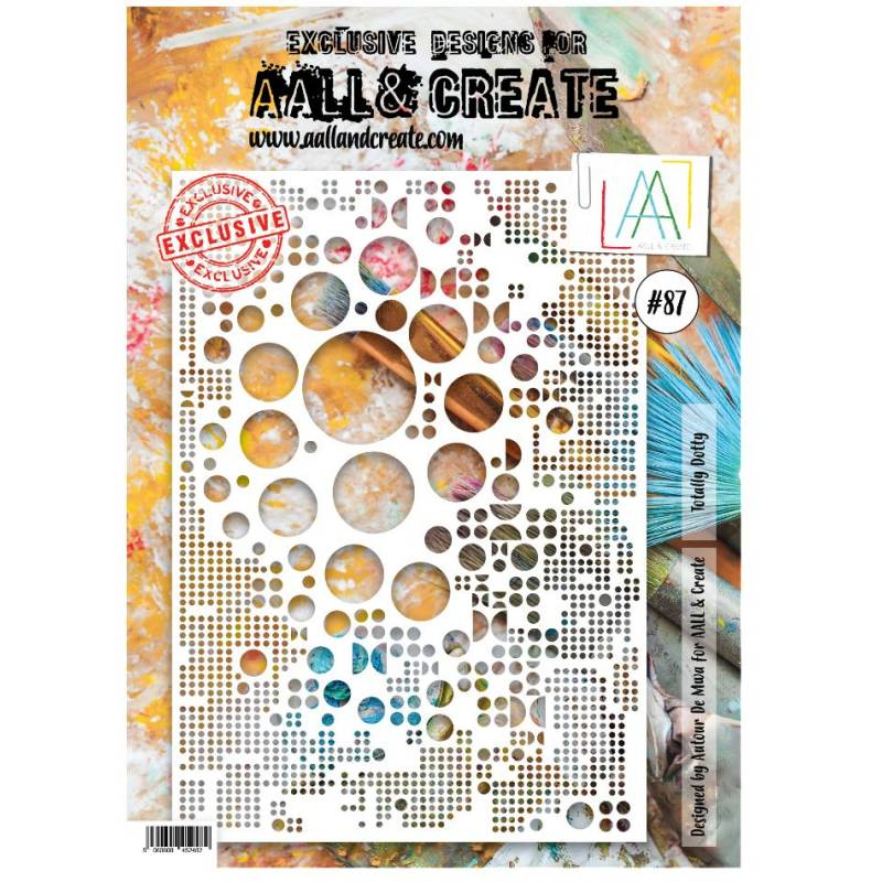 AALL & Create - Pochoir 87 - Bulles