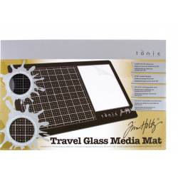 Travel Glass Media Mat - Tim Holtz - Tapis de découpe verre