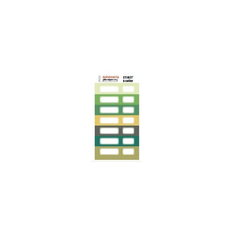 Stickers - Nuances de Jungle