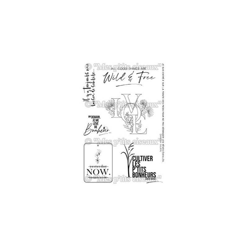 Tampons clear - Mes Ptits Ciseaux - O'Jardin - Bonheur