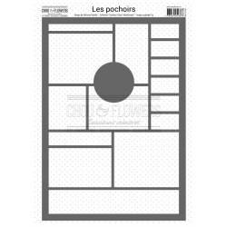 Pochoir - Chou & Flowers - Moodboard1