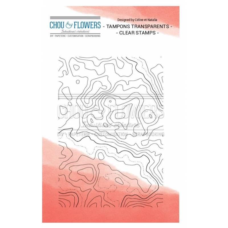 Tampons Clear - Chou & Flowers - Carte marine