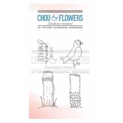 Tampons Clear - Chou & Flowers - Puffin