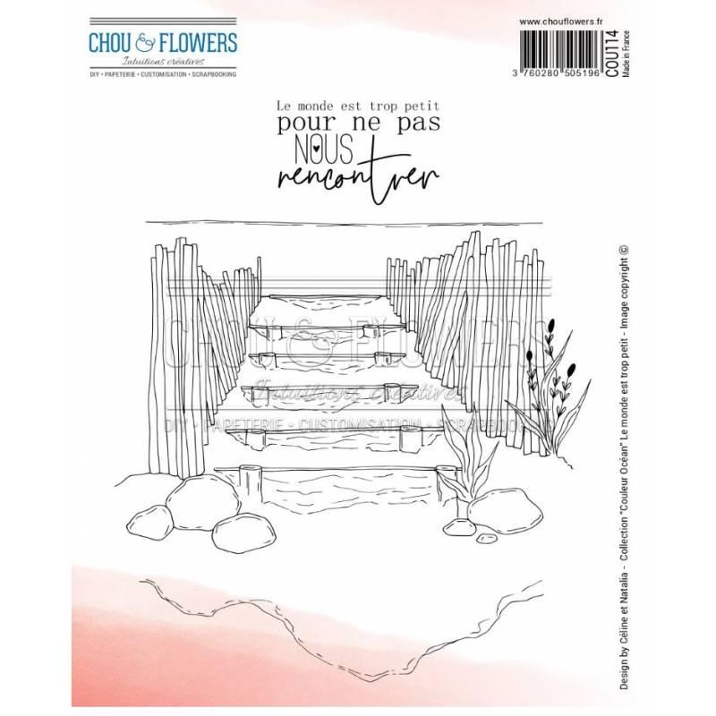 Tampons EZ - Chou & Flowers - Le monde est trop petit