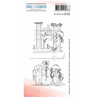 Tampons EZ - Chou & Flowers - Regardez la vie autrement