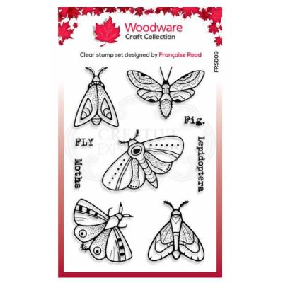 Tampons - Woodware - Papillon de nuit