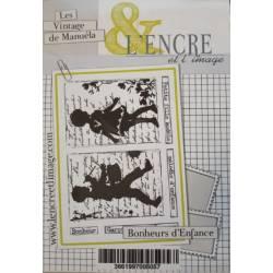 Tampons L'Encre & l'Image - Bonheurs d'Enfance
