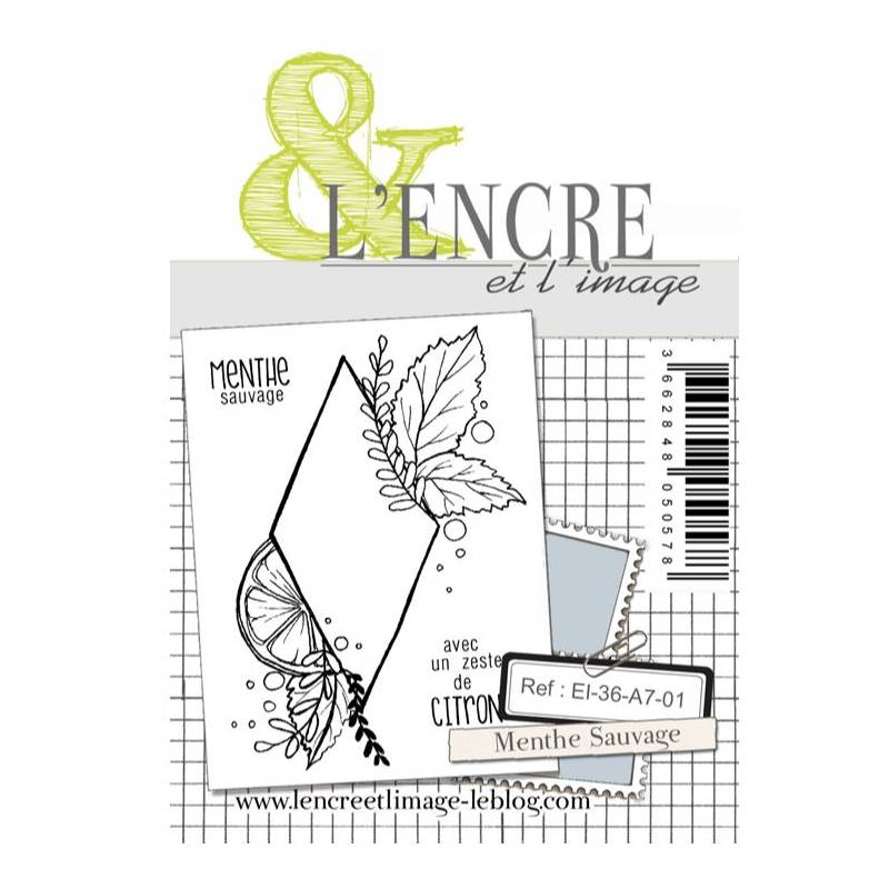 Tampons L'Encre & l'Image - Menthe Sauvage
