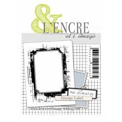 Tampons L'Encre & l'Image - Grunge Label