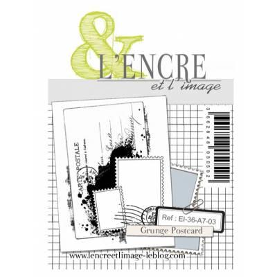 Tampons L'Encre & l'Image - Grunge Postcard