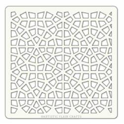 Pochoir Artistic Flair - 10x10 cm - Maroccan Mosaic
