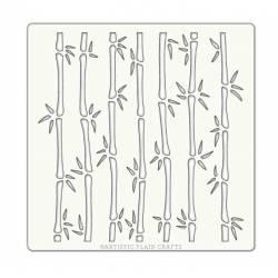 Pochoir Artistic Flair - 15x15 cm - Bamboo - Bambou
