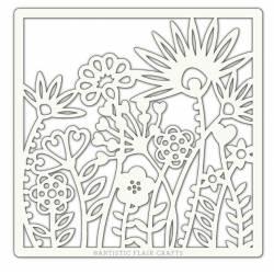 Pochoir Artistic Flair - 15x15 cm - Wild Garden