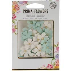Fleurs papiers Prima Mulberry - Opale