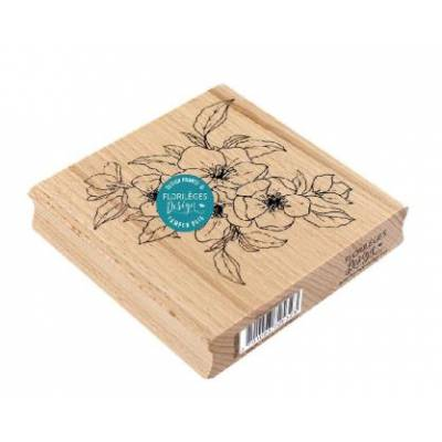 Tampon bois - Florilèges - Fleurs de pommier
