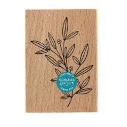 Tampon bois - Florilèges - Doux feuillage