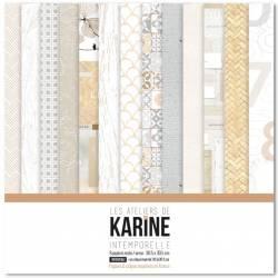 Pack Papiers 30 x 30 - Collection Intemporelle