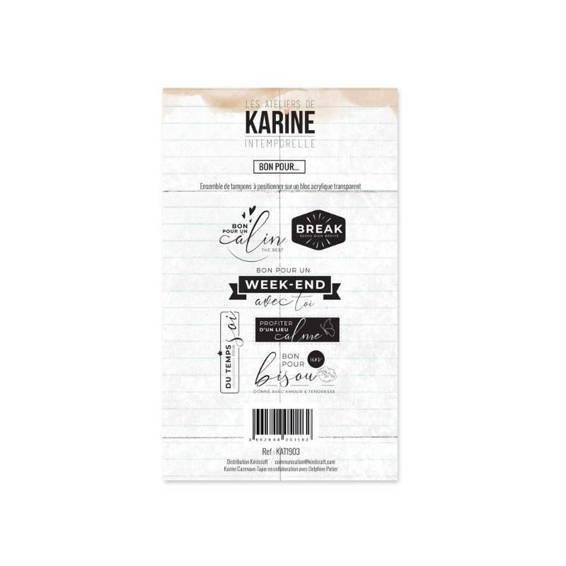 Tampons clear - Collection Intemporelle - Bon pour