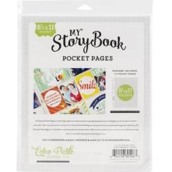 Pochettes My StoryBook 8 1/2x11 pouces - Pleines