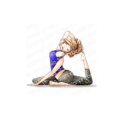 Tampons Cling - Yoga Mochi Girl