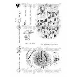 Tampons clear - Mes Ptits Ciseaux - Fonds nature
