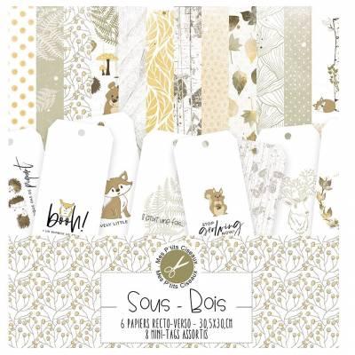 Pack Papier - Mes Ptits Ciseaux - Collection Sous-Bois