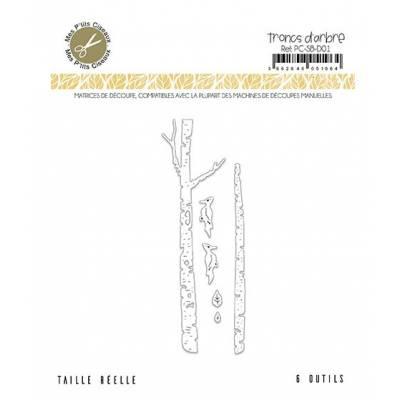 Dies - Mes Ptits Ciseaux - Tronc d'arbres
