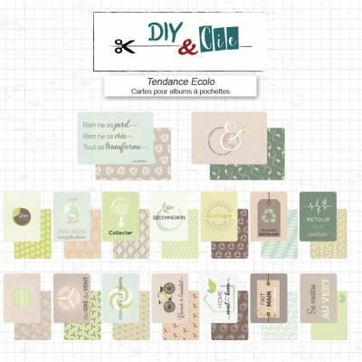 Cartes pour albums Tendance Ecolo! - DIY and Cie