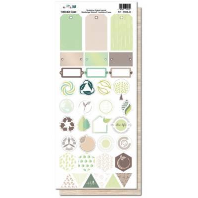 Planche de motifs - DIY & Cie - Tendance écolo