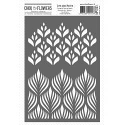 Pochoir - Chou & Flowers - Duo Bohème
