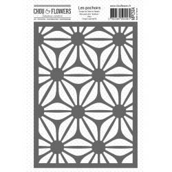 Pochoir - Chou & Flowers - Couleur Bohème - Fleur