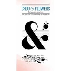Tampons Clear - Chou & Flowers - Esperluette boho