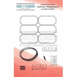 Tampons Clear - Chou & Flowers - Ticket