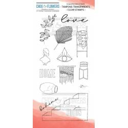Tampons Clear - Chou & Flowers - Joli cocon