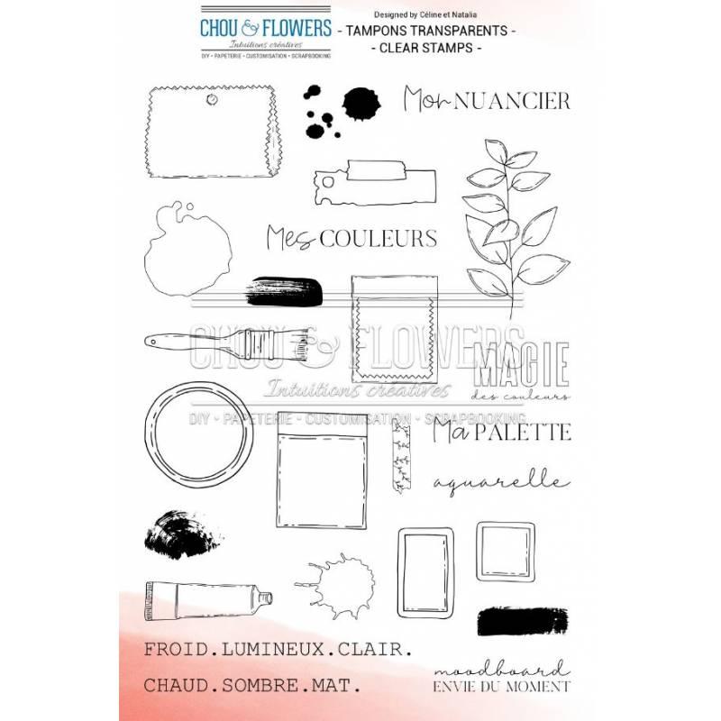 Tampons Clear - Chou & Flowers - Mon nuancier