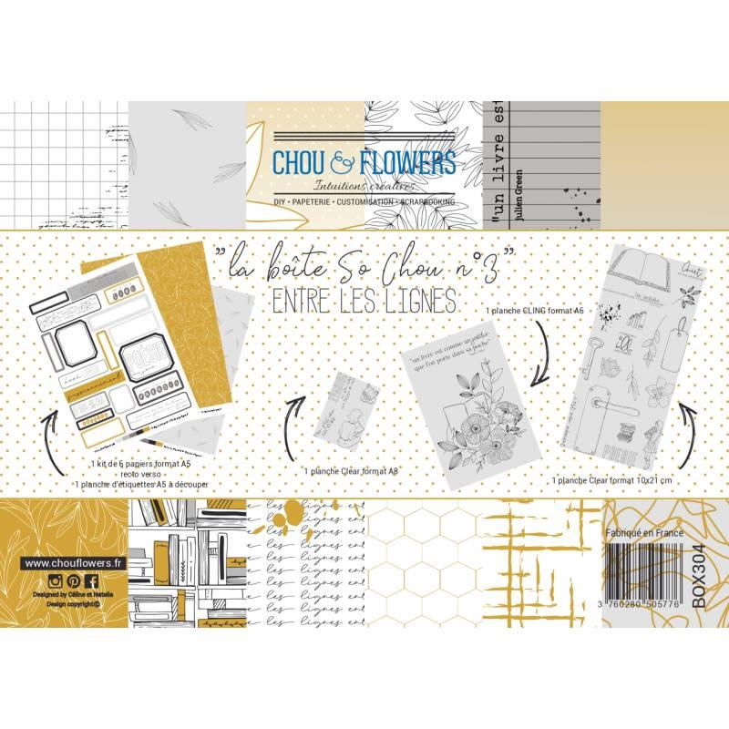 Boîte So Chou - Chou & Flowers - Entre les lignes